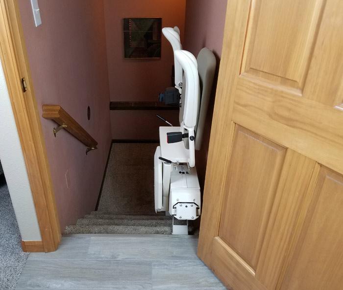 sl stair lift folded top lg